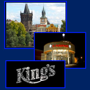Kings Casino Hotel and the castle Prague